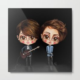 Tegan and Sara Metal Print