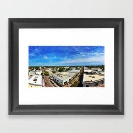 Aerial Paradise Framed Art Print