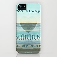 SUMMEr iPhone (5, 5s) Slim Case