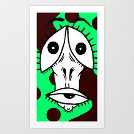 Insane 2.0 Art Print