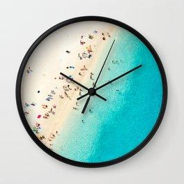 Mediterranean Dreams Wall Clock