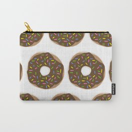 Delightful chocolate sprinkle Donuts Carry-All Pouch