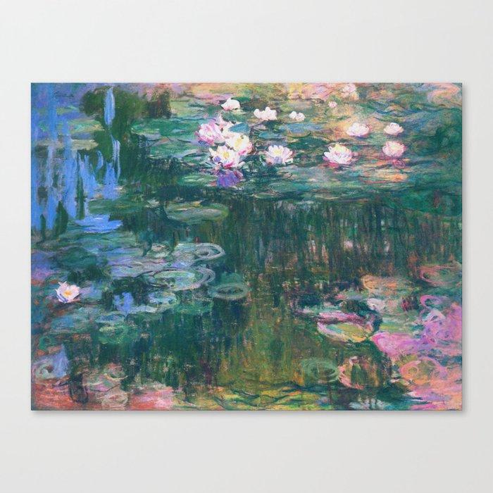 Claude Monet - Water Lilies Leinwanddruck