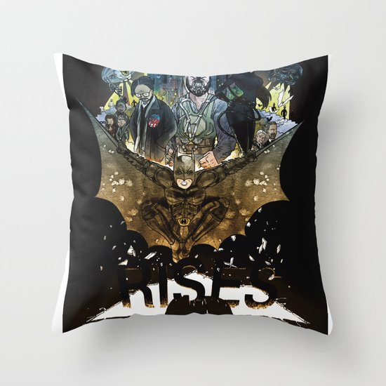 you're COLOR rises Throw Pillow
