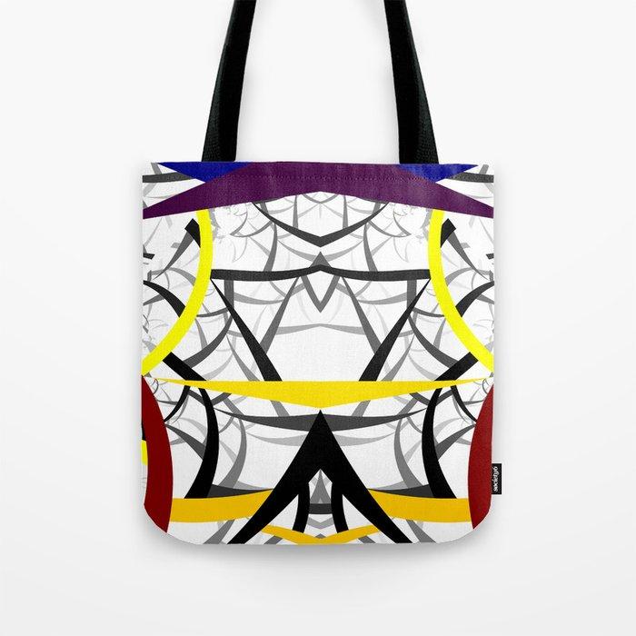geometric architecture Tote Bag