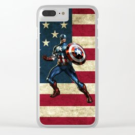 CAPTAIN Clear iPhone Case