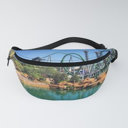 Roller Coaster Fanny Pack