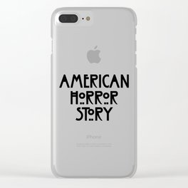 american horror stor Clear iPhone Case