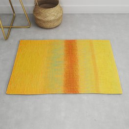 Red Dawn (Homage to Rothko) Rug