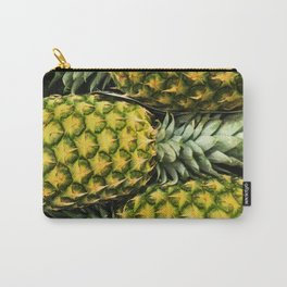 Horizontal Hawaiian Pineapples Carry-All Pouch