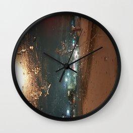 Winter Storm Warning Wall Clock