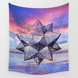 Sacred Geometry Universe 8 Wall Tapestry