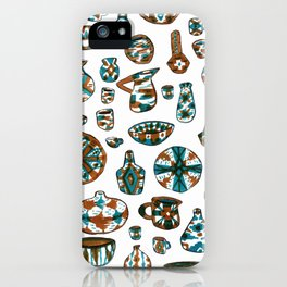 New Mexico Pottery iPhone Case