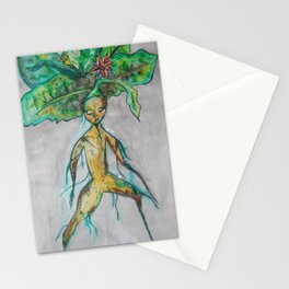 Mandrake root Stationery Cards