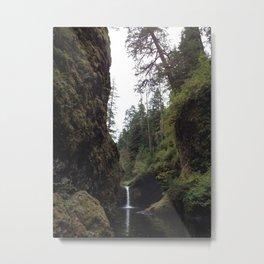 Punchbowl Falls Metal Print