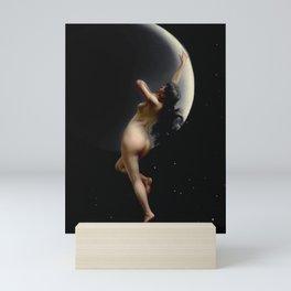 """Luis Ricardo Falero """"Night (also known as Moon Nymph)"""" Mini Art Print"""