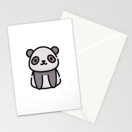 Just a Cute Panda Stationery Cards