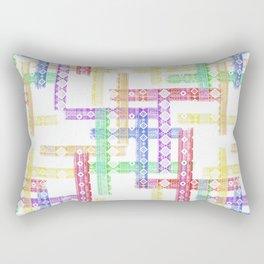Geometric pattern. Rectangular Pillow