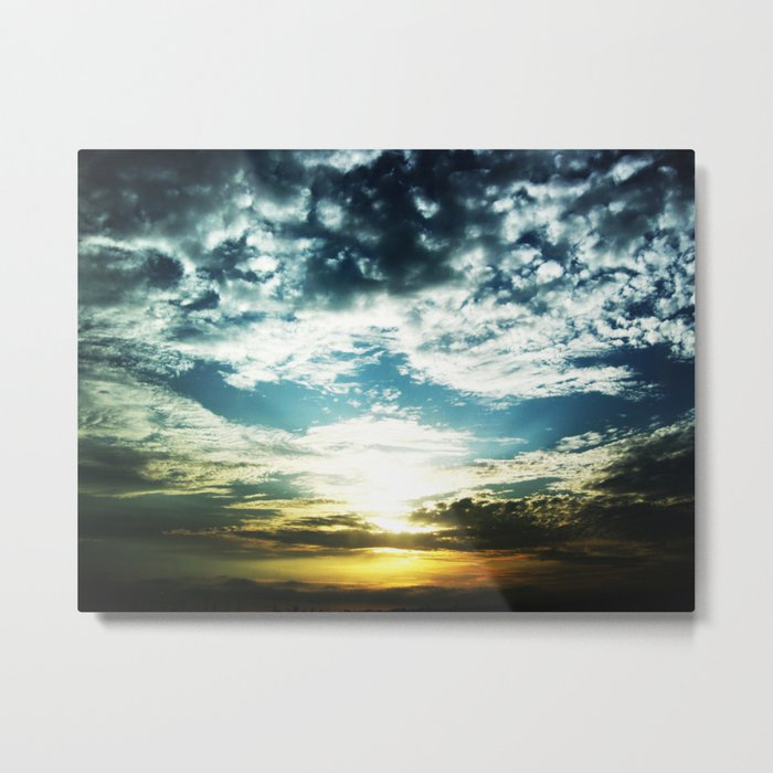 After My Grandfather Passed Metal Print