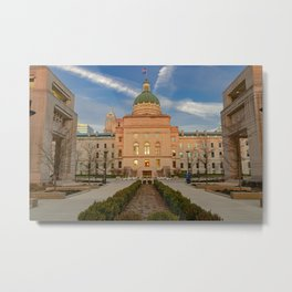 Indianapolis State Capitol Buliding Metal Print