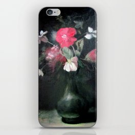 Red Flowers iPhone Skin
