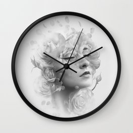 Efflorescent Wall Clock