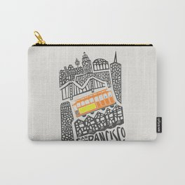San Francisco Cityscape Carry-All Pouch