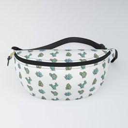Kawaii Cute Desert Cacti Plants Fanny Pack