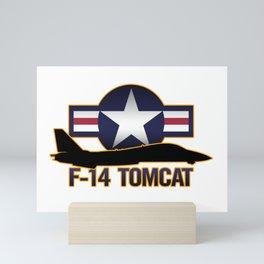 F-14 Tomcat Mini Art Print