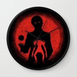 Red Light Ryuk Design Wall Clock