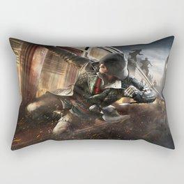 Assassins Train Attack Rectangular Pillow