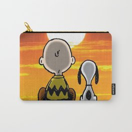sunset carly snoopy Carry-All Pouch