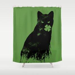 Ambivalence Shower Curtain