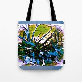 Jumbled Trees Tote Bag