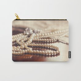 Memories in the Pearls Carry-All Pouch
