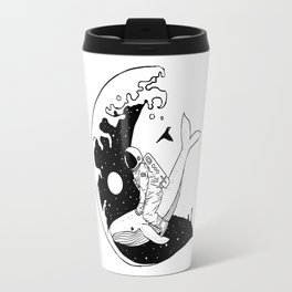 Space Wave (Take Me to the Place You've Dreamed Of) Travel Mug