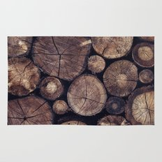 The Wood Holds Many Spirits // You Can Ask Them Now Edit Rug