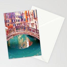 Small Bridge in Venice Stationery Cards
