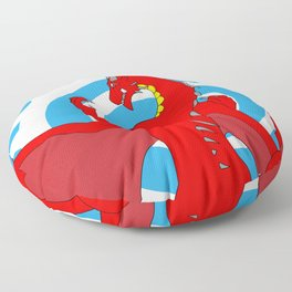 Annoth the Warrior Dragon Floor Pillow