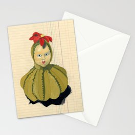 Creepiest Yet Most Wonderful Pincushion Ever in Gouache Stationery Cards