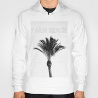 palm Hoodies featuring Palm  by Patricia de Cos
