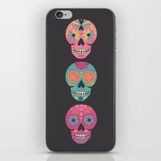 Three Amigas Sugar Skulls iPhone & iPod Skin