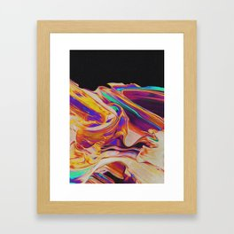 UP IN FLAMES Framed Art Print