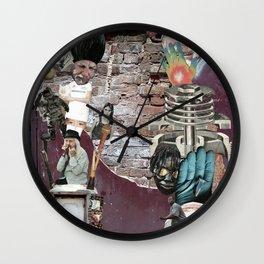 Image Trash Wall Clock