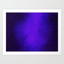 Oh the Stars Art Print