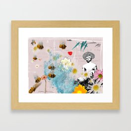 In your dreams Framed Art Print