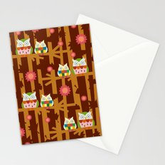 Owl Forest Stationery Cards