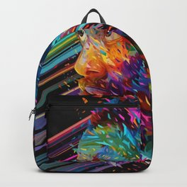 Harden Canvas Print Backpack