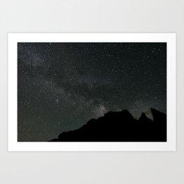 Sierra Stars Art Print
