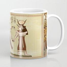 Calling to the Gods Egyptian Folk Art Coffee Mug